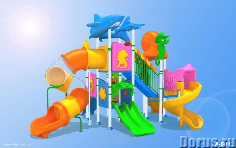 Детские водные игровые комплексы - Прочее по отдыху и спорту - Поставляем и монтируем детские водные..., фото 2