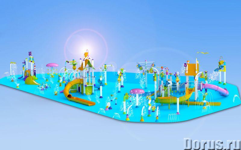 Детские водные игровые комплексы - Прочее по отдыху и спорту - Поставляем и монтируем детские водные..., фото 5