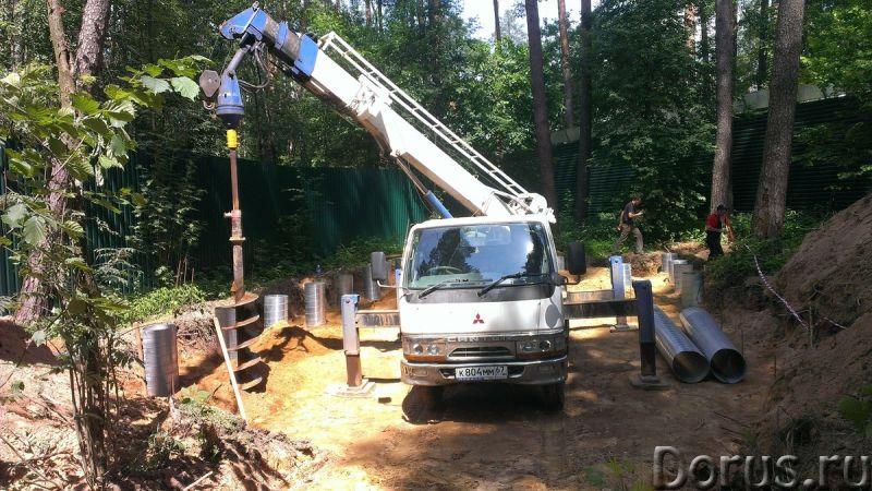 Аренда ямобура Mitsubishi, камаз 6x6, Cat (услуги) - Строительные услуги - Аренда ямобура Mitsubishi..., фото 1