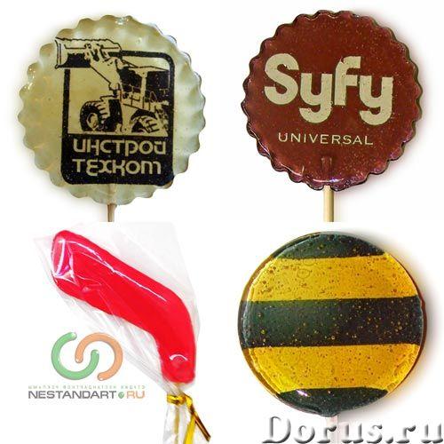 Рекламные леденцы с логотипом - Услуги по бизнесу - Леденцы с логотипом или леденцы на палочке с пре..., фото 1