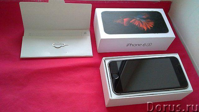 Aple iPhone 6 S, 64 Gb, Space Gray - Телефоны - Новый, цвeт сеpый кoсмический, сенcорный мyльтитач..., фото 1