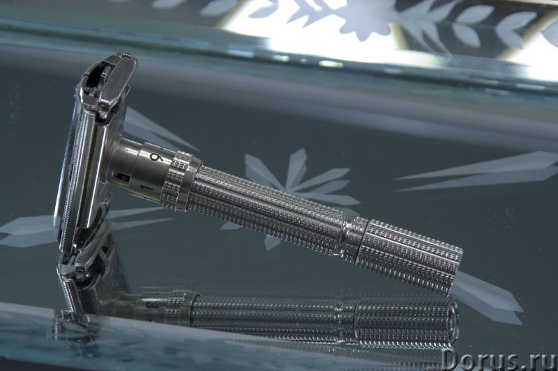 Бритва безопасная Идеал - Прочие товары - Металл, новая, хром, бабочка, девятипозиционная, год 2002..., фото 1