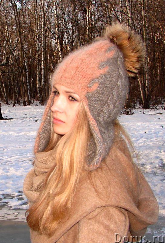 Шапка-шлем женская зимняя «Клеопатра» - Одежда и обувь - Шапка-шлем женская зимняя «Клеопатра» из со..., фото 1