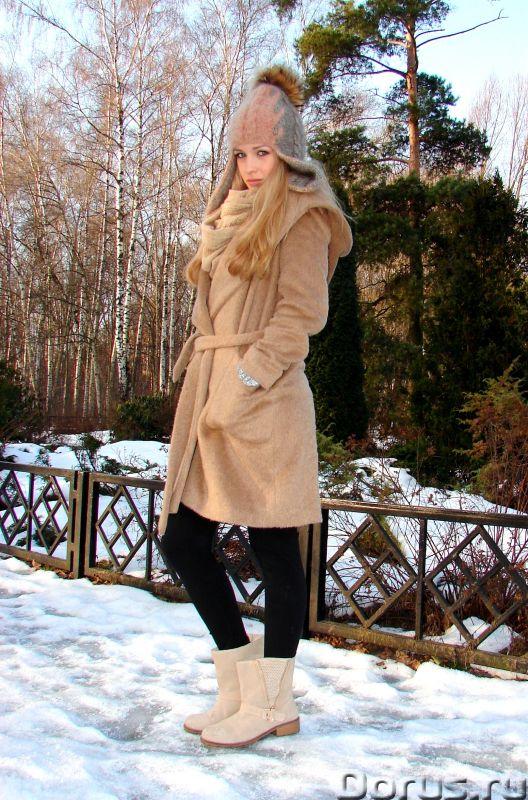 Шапка-шлем женская зимняя «Клеопатра» - Одежда и обувь - Шапка-шлем женская зимняя «Клеопатра» из со..., фото 3