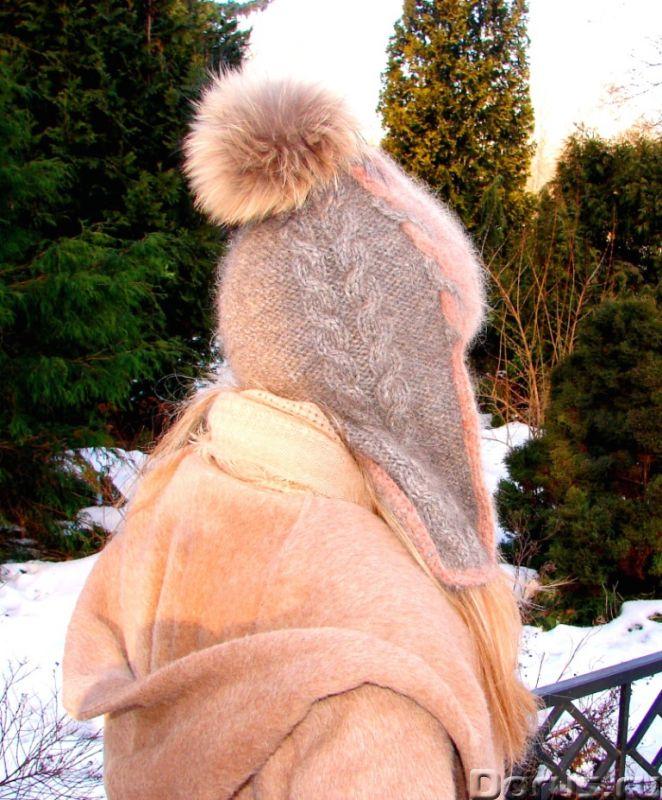 Шапка-шлем женская зимняя «Клеопатра» - Одежда и обувь - Шапка-шлем женская зимняя «Клеопатра» из со..., фото 7