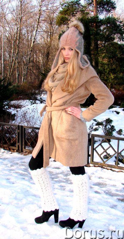 Шапка-шлем женская зимняя «Клеопатра» - Одежда и обувь - Шапка-шлем женская зимняя «Клеопатра» из со..., фото 8