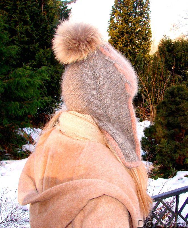 Шапка-шлем женская зимняя «Клеопатра» - Одежда и обувь - Шапка-шлем женская зимняя «Клеопатра» из со..., фото 10