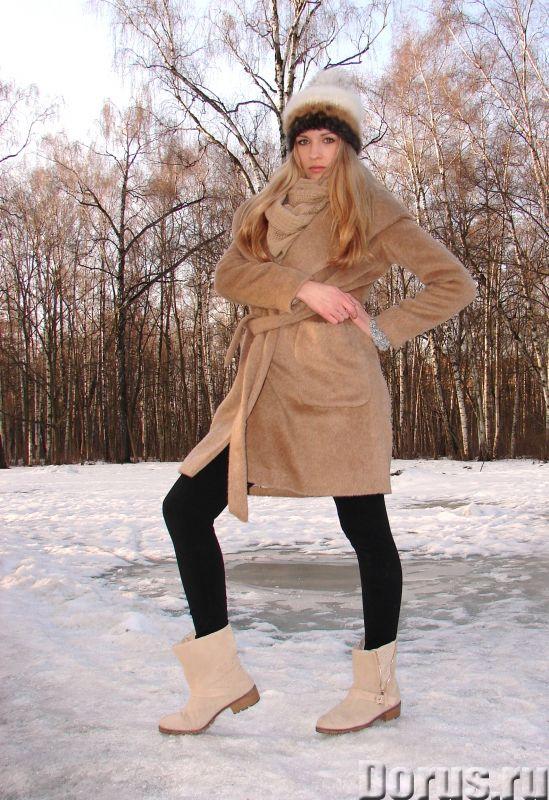 Шапка женская вязанная «Теплое Обаяние2» из собачьей шерсти - Одежда и обувь - Шапка женская вязанна..., фото 5