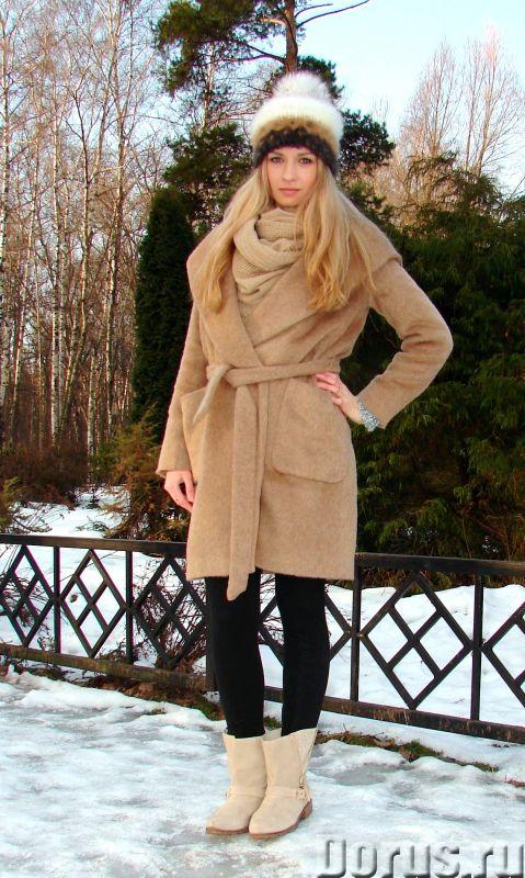Шапка женская вязанная «Теплое Обаяние2» из собачьей шерсти - Одежда и обувь - Шапка женская вязанна..., фото 7