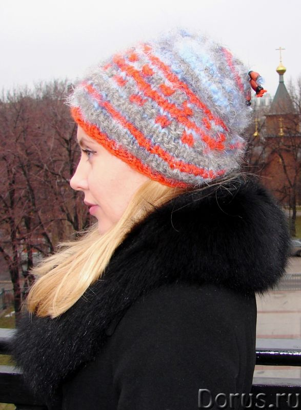 Шапка женская вязанная «Молодежная» - Одежда и обувь - Шапка женская вязанная «Молодежная» . Можем В..., фото 5