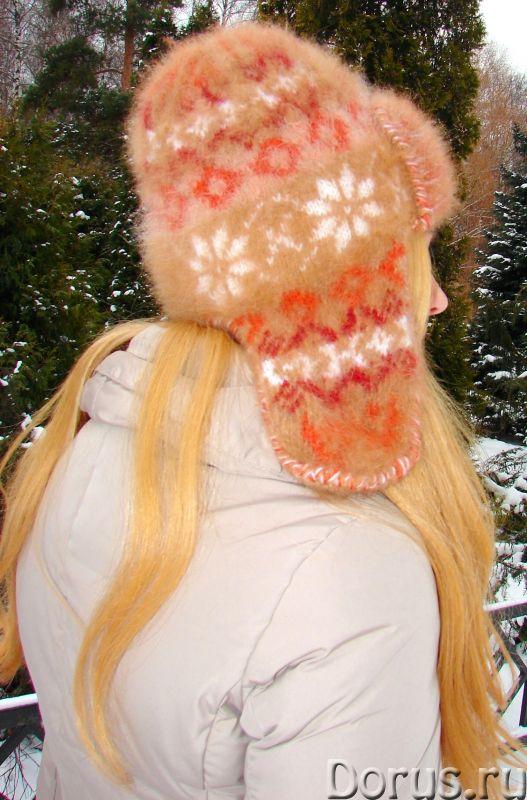Шапка «Золотая Фея» женская ручного вязания - Одежда и обувь - Шапка «Золотая Фея» женская ручного в..., фото 7
