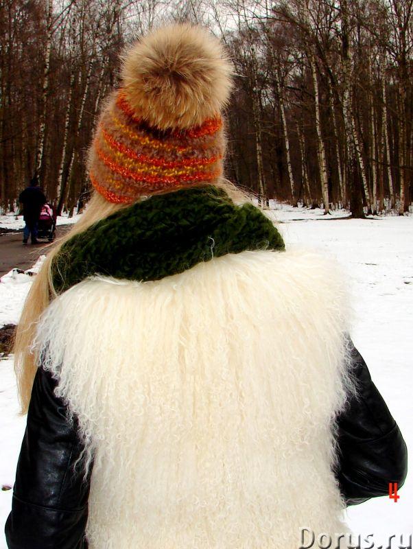 Шапка женская вязанная «Молодежная2» из шерсти - Одежда и обувь - Шапка женская вязанная «Молодежная..., фото 5