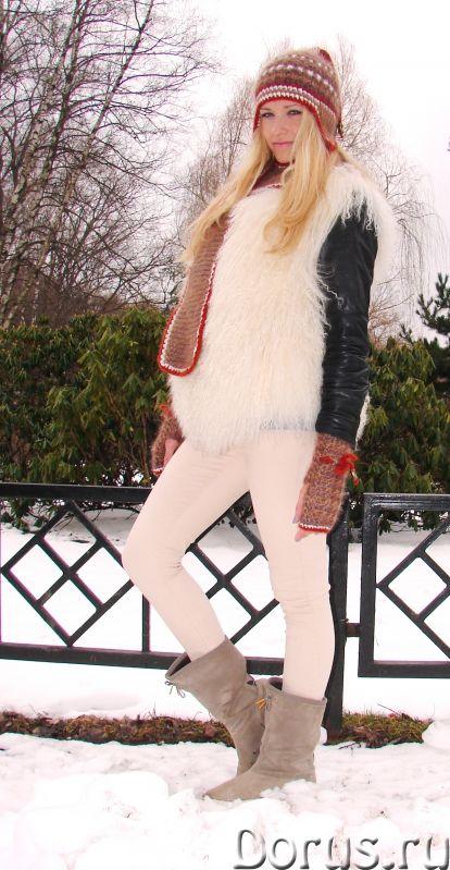 Шапка женская зимняя «ЗЕНА» .Комплект вязаный - Одежда и обувь - Шапка женская зимняя «ЗЕНА» .Компле..., фото 5