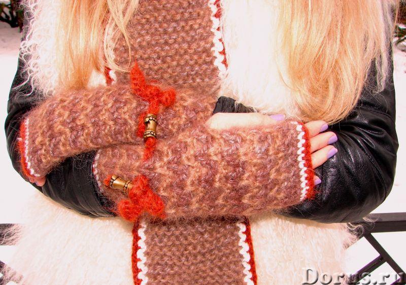 Шапка женская зимняя «ЗЕНА» .Комплект вязаный - Одежда и обувь - Шапка женская зимняя «ЗЕНА» .Компле..., фото 7