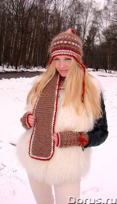 Шапка женская зимняя «ЗЕНА» .Комплект вязаный - Одежда и обувь - Шапка женская зимняя «ЗЕНА» .Компле..., фото 8