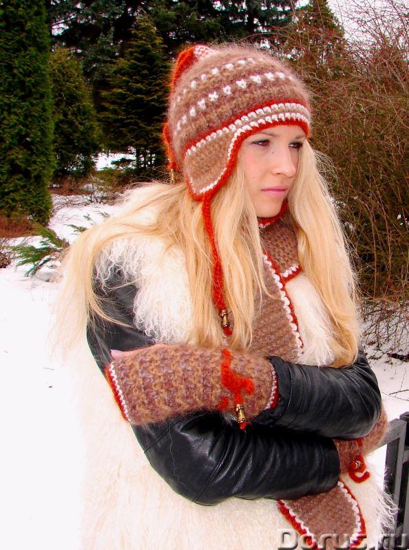 Шапка женская зимняя «ЗЕНА» .Комплект вязаный - Одежда и обувь - Шапка женская зимняя «ЗЕНА» .Компле..., фото 9