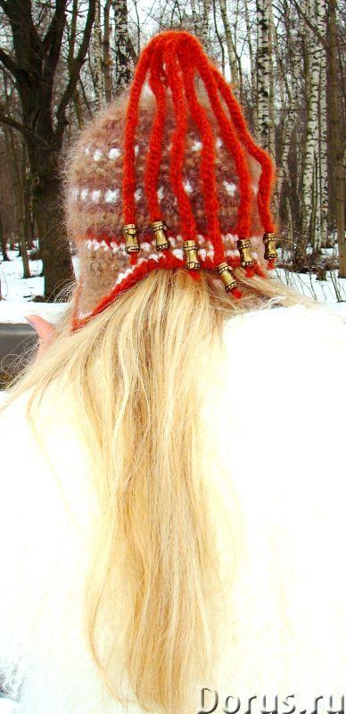 Шапка женская зимняя «ЗЕНА» .Комплект вязаный - Одежда и обувь - Шапка женская зимняя «ЗЕНА» .Компле..., фото 10
