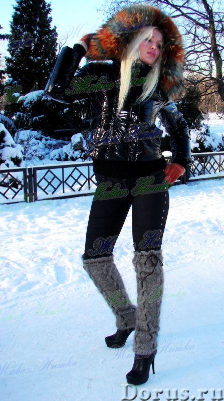 Гетры женские теплые вязанные арт. №15ж из собачьей шерсти - Одежда и обувь - Гетры женские теплые в..., фото 4