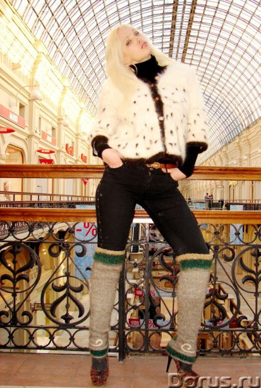 Гетры женские теплые целебные вязанные арт№02ж .Шерсть - Одежда и обувь - Гетры женские теплые вязан..., фото 4