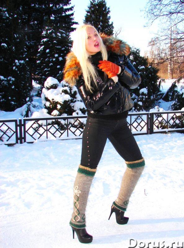Гетры женские теплые целебные вязанные арт№02ж .Шерсть - Одежда и обувь - Гетры женские теплые вязан..., фото 5