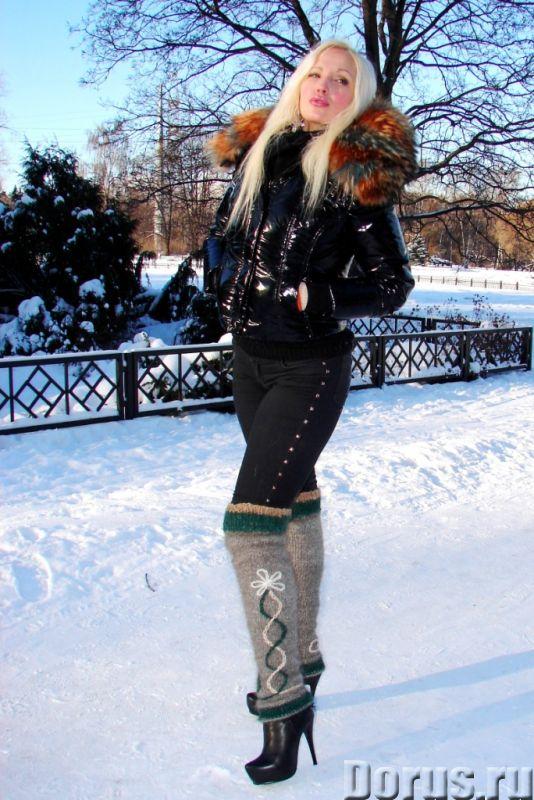 Гетры женские теплые целебные вязанные арт№02ж .Шерсть - Одежда и обувь - Гетры женские теплые вязан..., фото 7