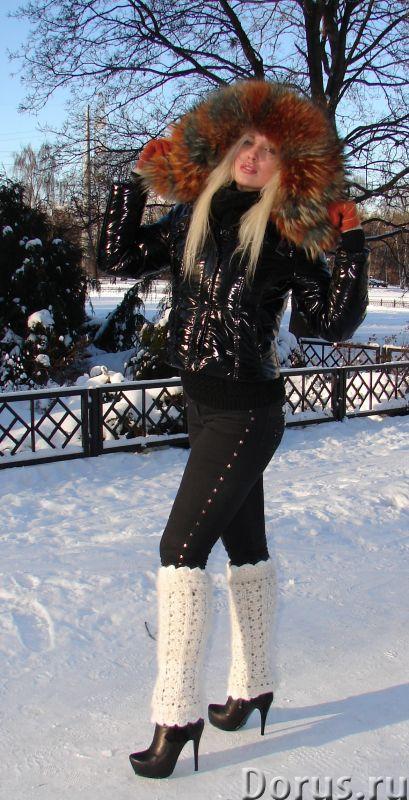 Гетры женские теплые вязаные арт.№17 из собачьего пуха - Одежда и обувь - Гетры женские теплые вязан..., фото 2