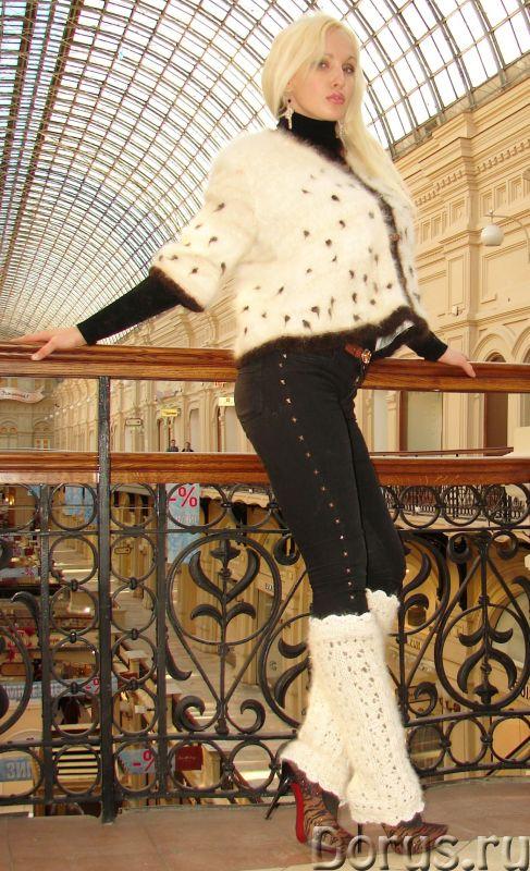 Гетры женские теплые вязаные арт.№17 из собачьего пуха - Одежда и обувь - Гетры женские теплые вязан..., фото 4