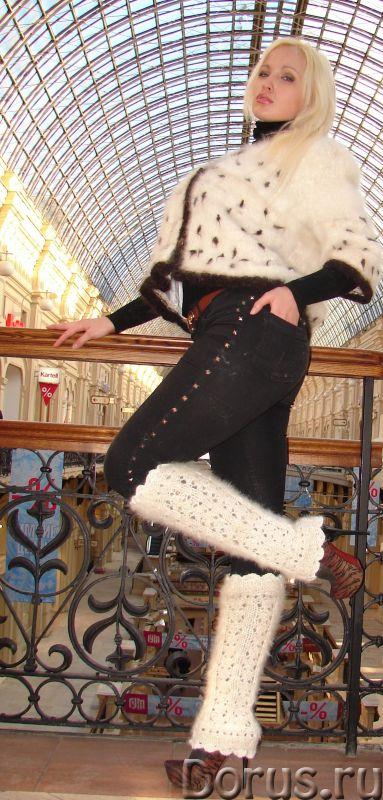 Гетры женские теплые вязаные арт.№17 из собачьего пуха - Одежда и обувь - Гетры женские теплые вязан..., фото 7