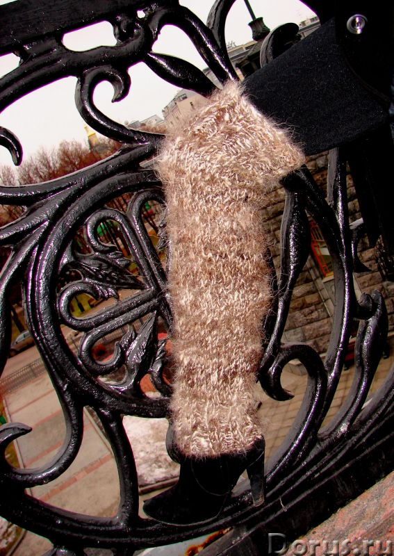 Гетры женские теплые вязанные арт№03ж из собачьей шерсти - Одежда и обувь - Гетры женские теплые вяз..., фото 3