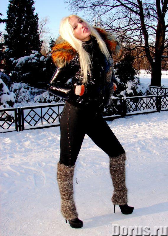 Гетры женские теплые вязанные арт№03ж из собачьей шерсти - Одежда и обувь - Гетры женские теплые вяз..., фото 6