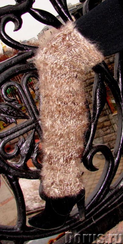Гетры женские теплые вязанные арт№03ж из собачьей шерсти - Одежда и обувь - Гетры женские теплые вяз..., фото 8