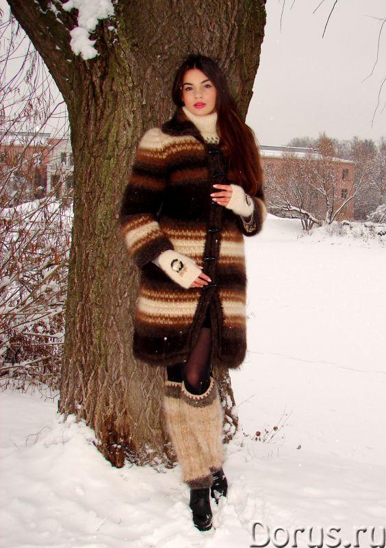 Гетры женские теплые вязанные арт. №23ж из собачьей шерсти - Одежда и обувь - Гетры женские теплые в..., фото 3