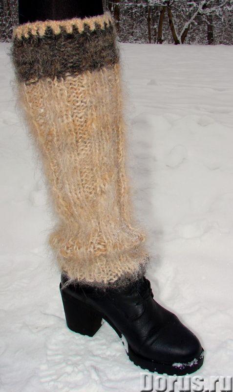 Гетры женские теплые вязанные арт. №23ж из собачьей шерсти - Одежда и обувь - Гетры женские теплые в..., фото 9