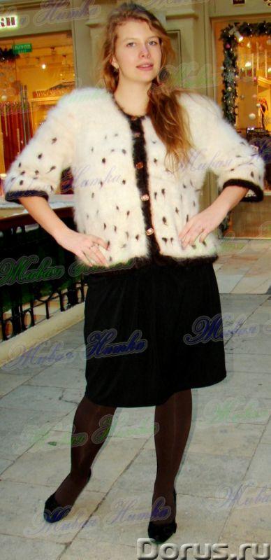 Жакет женский вязаный «Автоледи» из собачьего пуха - Одежда и обувь - Жакет женский вязаный «Автолед..., фото 10