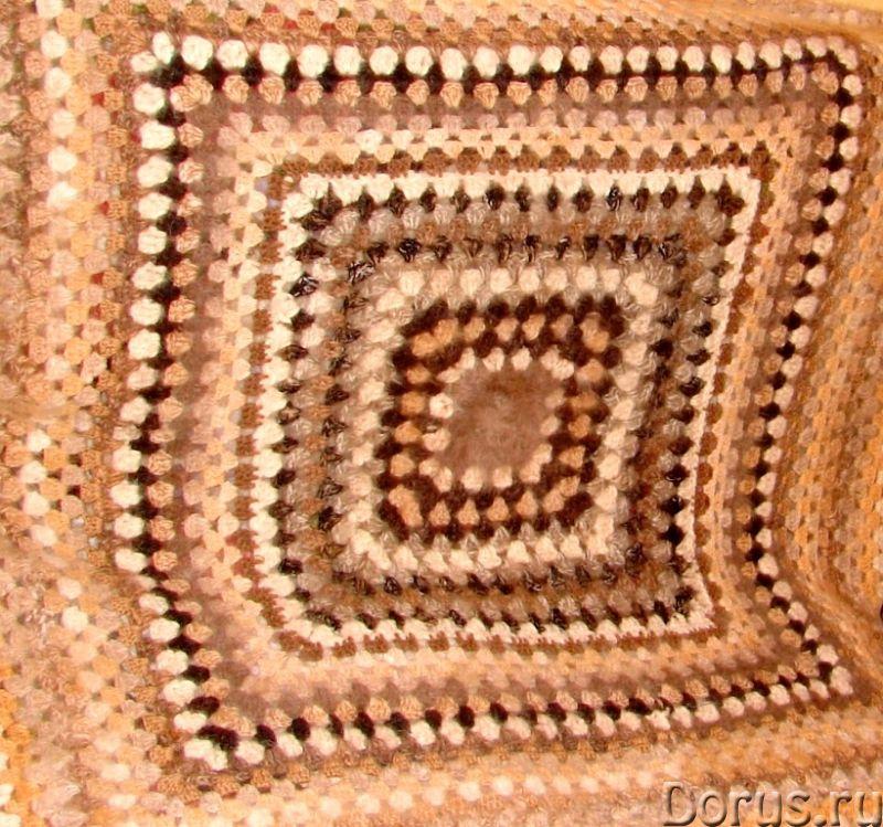 Плед вязанный из собачьего пуха(шерсти).1500 Х 2000 мм - Товары для дома - Плед вязанный из собачьег..., фото 2