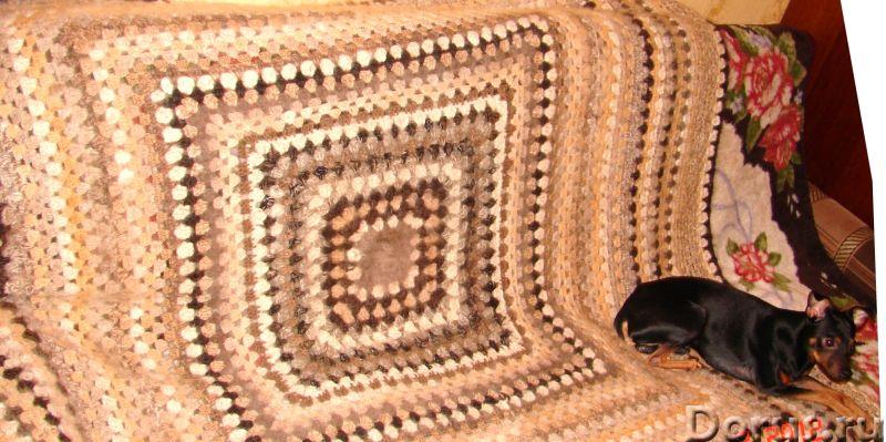 Плед вязанный из собачьего пуха(шерсти).1500 Х 2000 мм - Товары для дома - Плед вязанный из собачьег..., фото 6