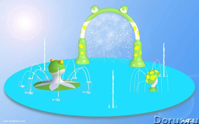 """Детская водная площадка """"Лилия"""" - Прочее по отдыху и спорту - Тематическая детская водная площадка «..., фото 1"""