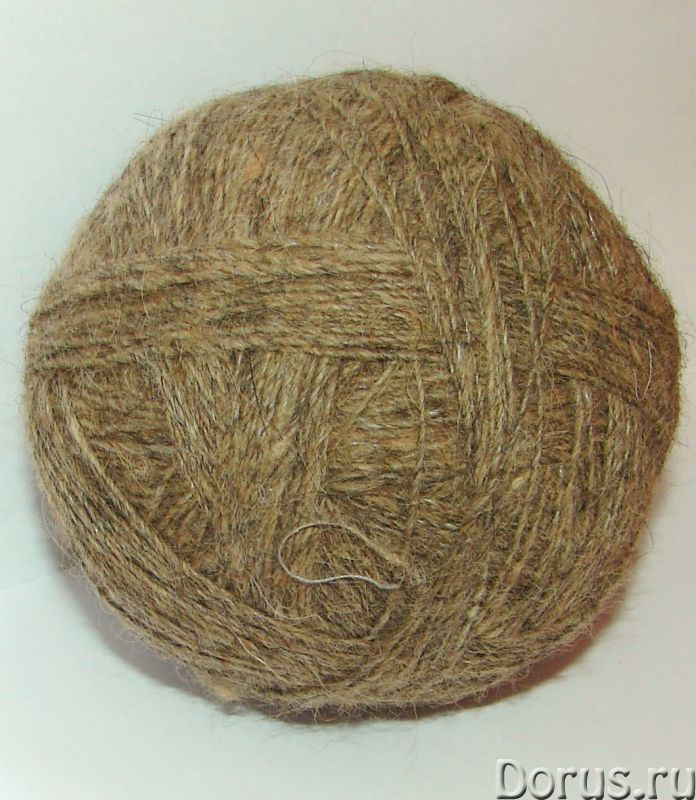 Пряжа целебная «Леонбергер» 390м100грамм одинарная нитка из собачьей шерсти - Услуги народной медици..., фото 3