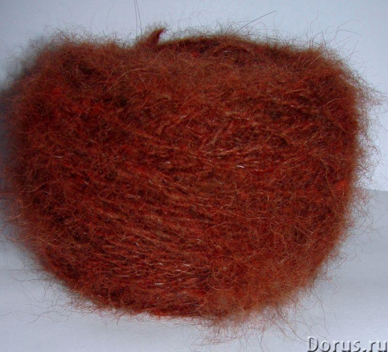 Пряжа целебная «меланж М5 brown-firebrick» 110м100грамм из собачьей шерсти - Услуги народной медицин..., фото 8