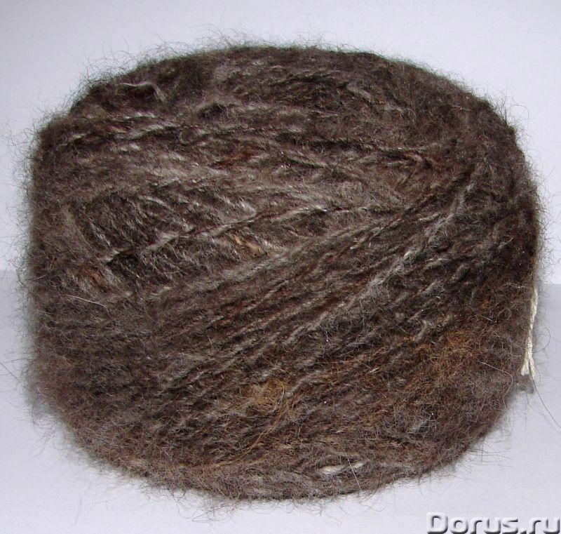 Пряжа целебная «Кашемир-банхар» 115м100гр ручного прядения из собачьей шерсти - Услуги народной меди..., фото 3
