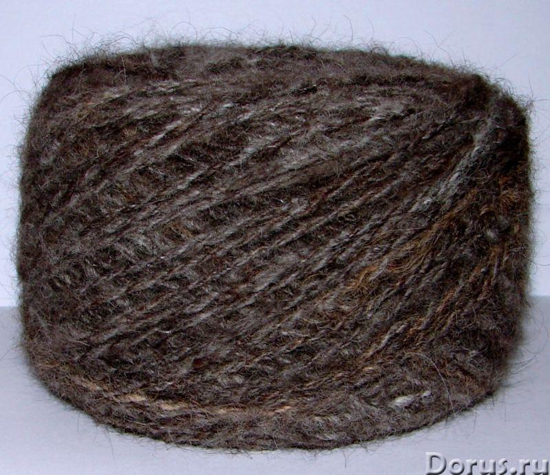 Пряжа целебная «Кашемир-банхар» 115м100гр ручного прядения из собачьей шерсти - Услуги народной меди..., фото 9