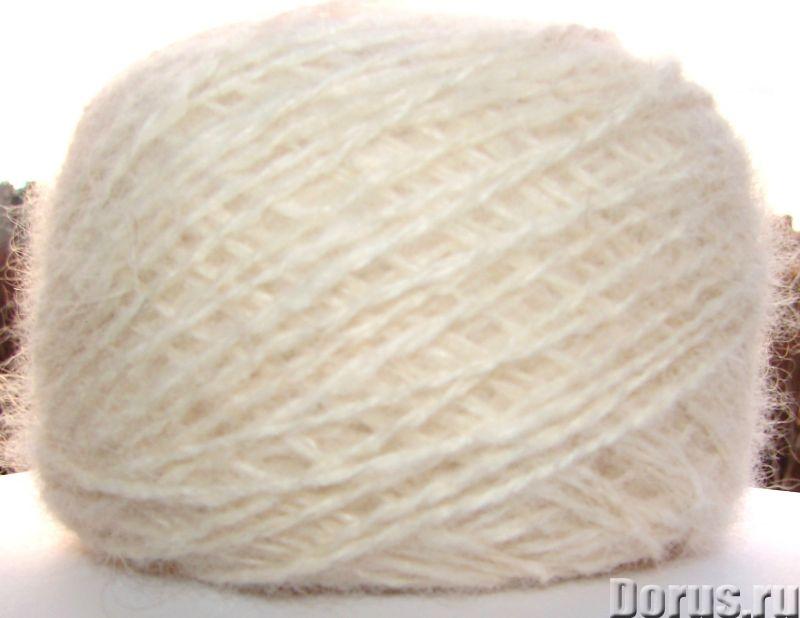 Пряжа целебная «Белый Пушистик superwhite»190м100гр из пуха самоедской лайки - Услуги народной медиц..., фото 5