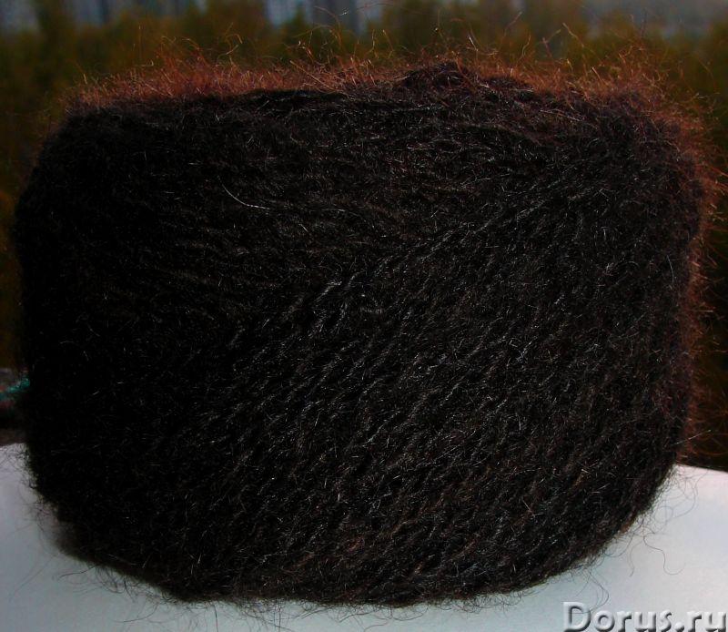 Пряжа целебная «Черный Лохматуля» 120м100гр из собачьей шерсти - Услуги народной медицины - Пряжа «Ч..., фото 3