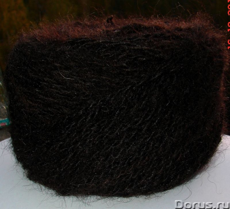 Пряжа целебная «Черный Лохматуля» 120м100гр из собачьей шерсти - Услуги народной медицины - Пряжа «Ч..., фото 7