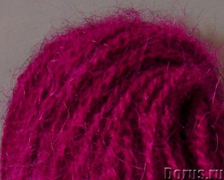 Пряжа целебная «БШС фиолетовый» 145м/100гр из собачьей шерсти - Услуги народной медицины - Пряжа «БШ..., фото 2