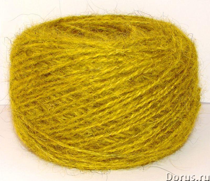 Пряжа целебная «БШС желтый» 145м/100гр из собачьей шерсти - Услуги народной медицины - Пряжа «БШС же..., фото 3