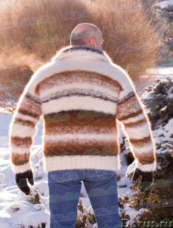 Пряжа «Черный Лохматуля» 185м100гр из собачьей шерсти - Услуги народной медицины - Пряжа «Черный Лох..., фото 8