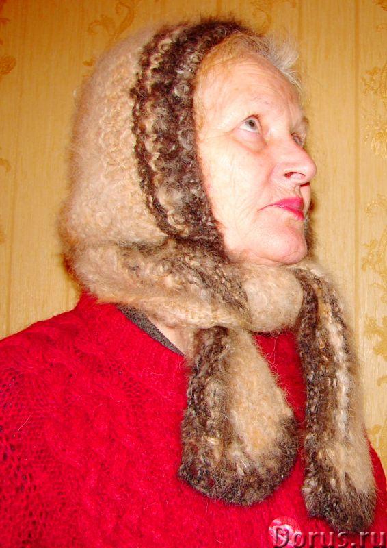 Шапка «Лапландия» женская вязанная из пуха колли .Шерсть собачья - Одежда и обувь - Шапка «Лапландия..., фото 2