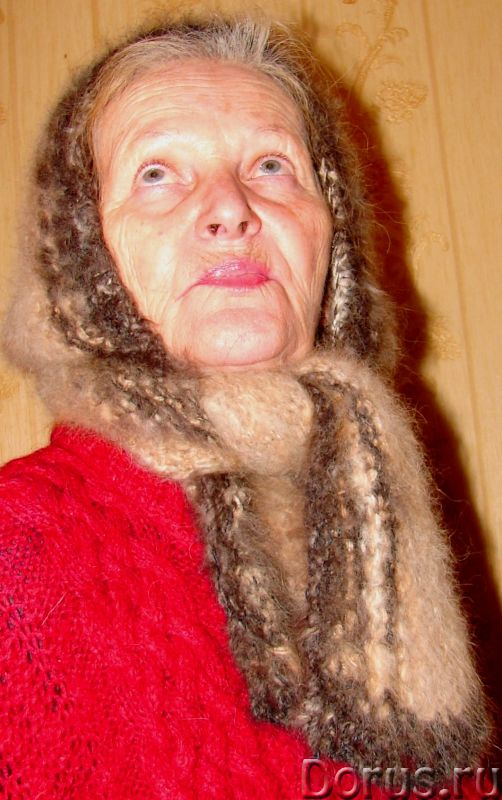 Шапка «Лапландия» женская вязанная из пуха колли .Шерсть собачья - Одежда и обувь - Шапка «Лапландия..., фото 7