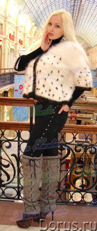 Гетры женские теплые вязанные арт. №15ж из собачьей шерсти - Одежда и обувь - Гетры женские теплые в..., фото 2